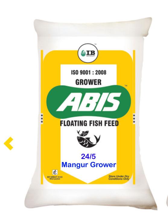 ABIS Mangur Grower 1 5mm Fish Feed Protein 24 Fat 5 – 35Kg